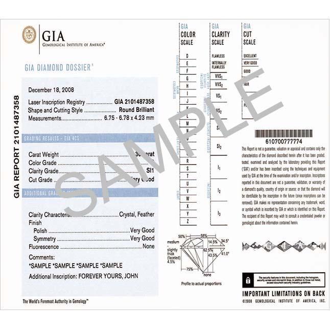 0.66TCW N/VS1 18k Gold Certified Diamond Bridal rings -Rs.100001 -Rs.150000