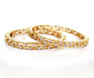 Bride's Honour -Diamond Bangles