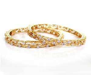 Bride's Honour -Diamond Bangles