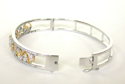 Good Girls Go To Heaven -Diamond Bracelets