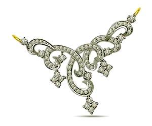 Bunch of Lover Stars 1.20cts Designer Diamond Necklace Pendants