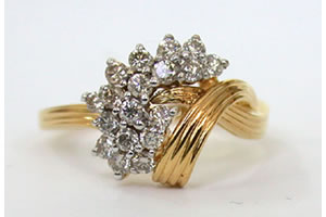 Butterfly Lady Love 0.56 ct Classic Diamond rings