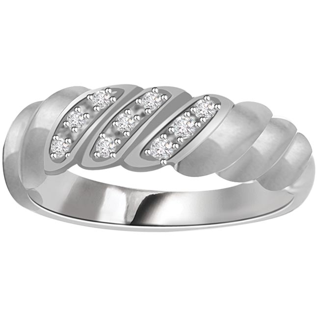 Classic Diamond Gold rings SDR639 -Designer
