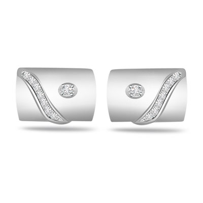 Collector's Choice -0.10ct VS Clarity Diamond Cufflinks -Cufflinks