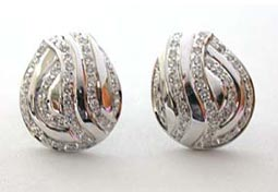 Coral Charm -0.67 cts Diamond Earrings -Designer Earrings