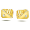 Coveted Cufflinks -0.20ct VS Clarity Diamond Gold Cufflinks -Cufflinks