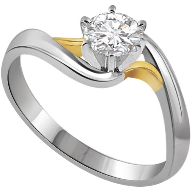 Curves for Love 1.00 ct Diamond Solitaire rings