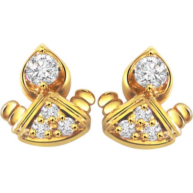 Darling Doll Diamond Earrings -Designer Earrings