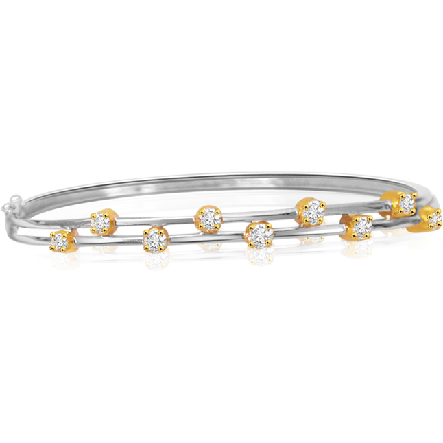 Dazzling Real Diamond Bracelet For your Love