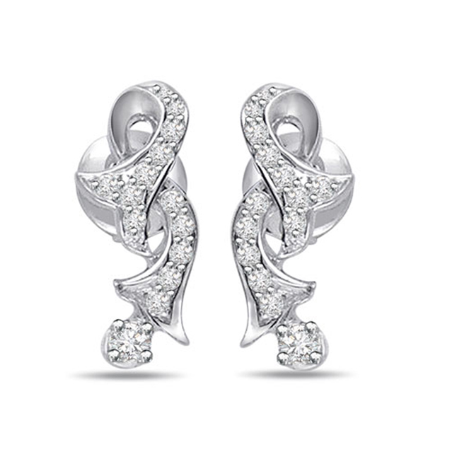 Desirable Diamond Earrings -Designer Earrings