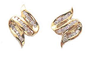 Devourings Diamond Earrings -Designer Earrings