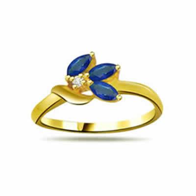 Diamond & Sapphire rings SDR1198