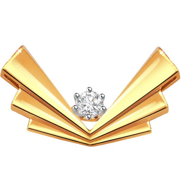 Diamond Dewy Delight -Diamond Pendants Surat Diamond Jewelry