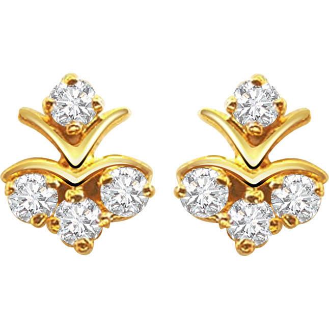 Diamond Pleasure Earrings Designer
