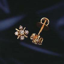 Diamond Forever Earrings -Designer Earrings