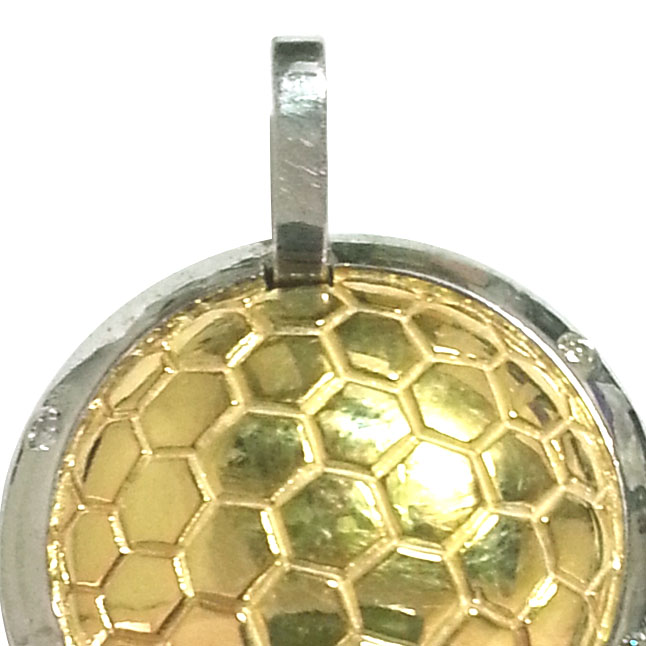 Diamond & Silver Football Pendants -Sport Collection