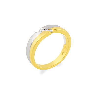 Discover Your Love -White Yellow Gold rings