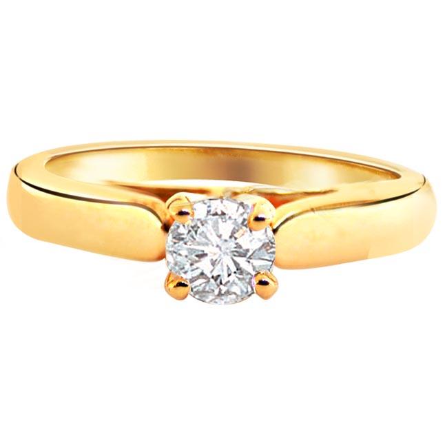 Diamond Engagement Rings 18K Diamond for Women and Men Surat