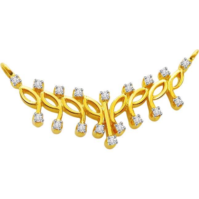 Illumined Diamond Necklace Pendants Necklaces