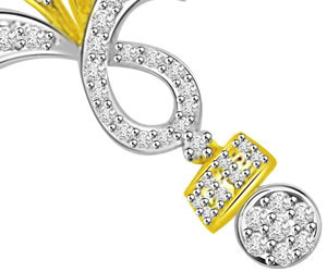 3 Circles Lifes Melody Diamond Mangalsutra Pendants