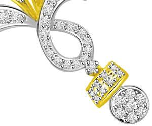 3 Circles Lifes Melody Diamond Mangalsutra Pendants