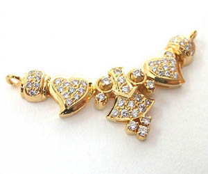 Shining Sky 0.71 cts Diamond Necklace Pendants dn19 Necklaces