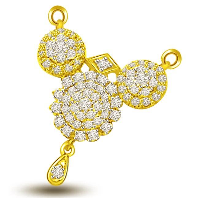 Mangalya Dharanam Diamond & Gold Mangalsutra Pendants