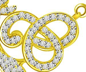 Cycles Of Heaven Diamond & Gold Mangalsutra Pendants