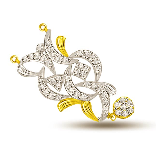 You & Me Together Gold & Diamond Pendants For Her