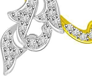 You & Me Together Diamond Pendants For My Love