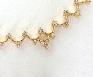 1.26 Cts Beautiful Diamond Necklace Pendants -Diamond Necklace