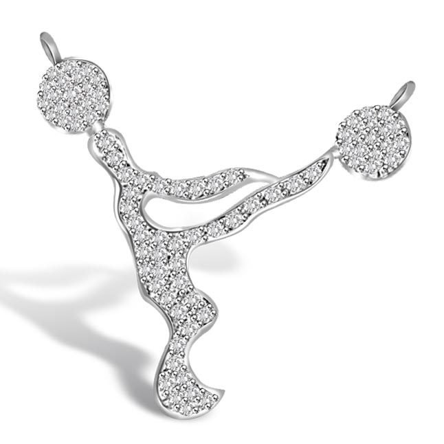 Life Together White Gold Diamond Pendants For Her Necklaces