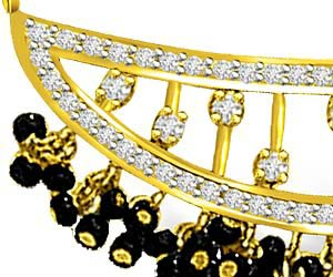 Tu Ch Aur Mein Sitara Diamond Mangalsutra Pendants