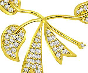 Tree Of Life Classy Gold & Diamond Pendants Necklaces
