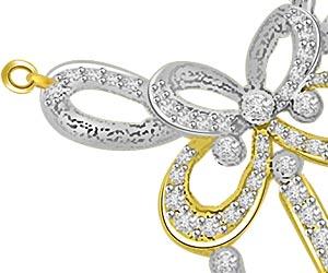 Bows & Kites 0.52ct Diamond Necklace Pendants