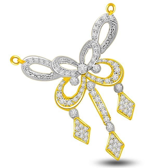 Bows & Kites 0.52ct Diamond Necklace Pendants