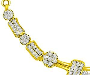1.33ct Passionate Love Diamond Necklace Pendants