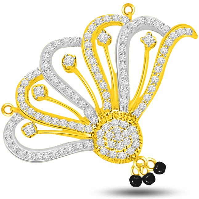 Spread Your Wings 0.74ct Diamond Necklace Pendants