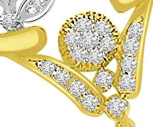 My Passionate Love 0.33ct Diamond Necklace Pendants