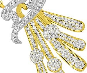 For My Loving Wife 0.90ct Diamond Pendants -Designer Pendants