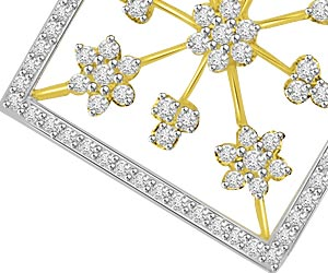 Rising Star 1.97ct Diamond Pendants For Her