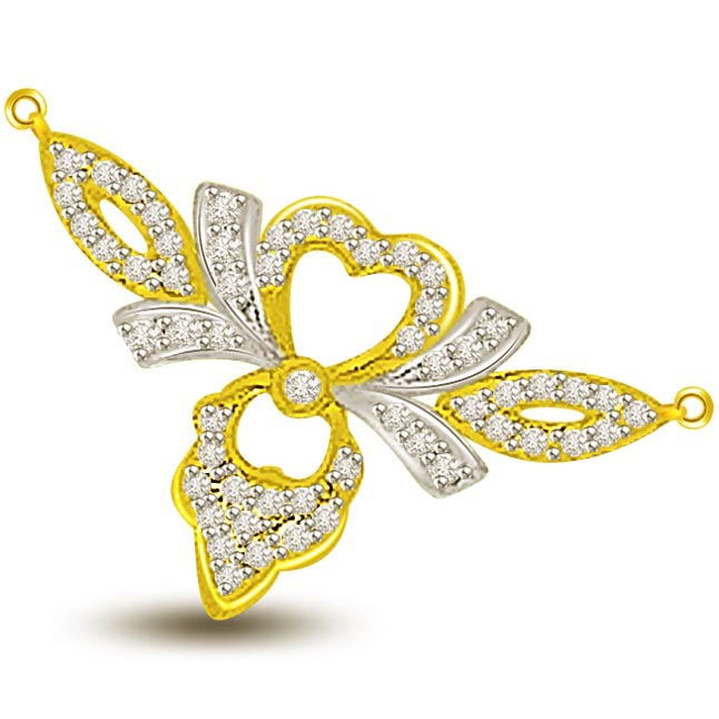 Wings Of Love 0.67ct Diamond Necklace Pendants