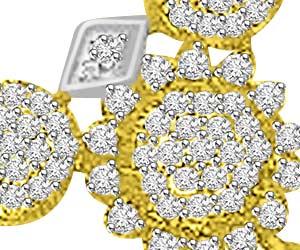 0.73ct Very Traditional Design Diamond Mangalsutra Pendants