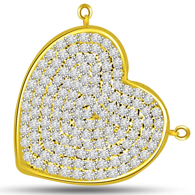 My Heart Is Filled With Love & Diamond …Pendants