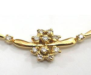 Vibrant Beauty Diamond Necklace Pendants Necklaces