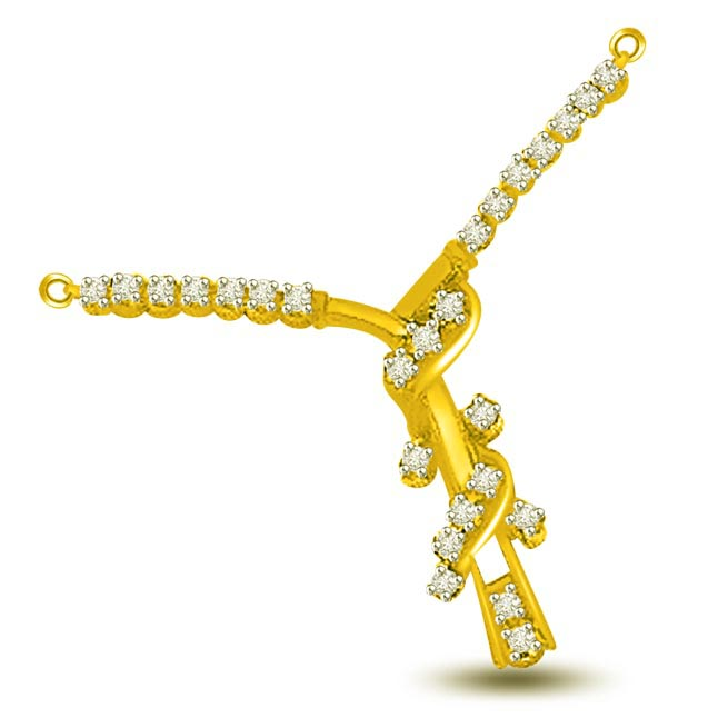 0.30ct Fancy Diamond Necklace Pendants For Her Necklaces