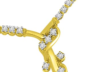 0.30ct Fancy Diamond Necklace Pendants For Her Necklaces