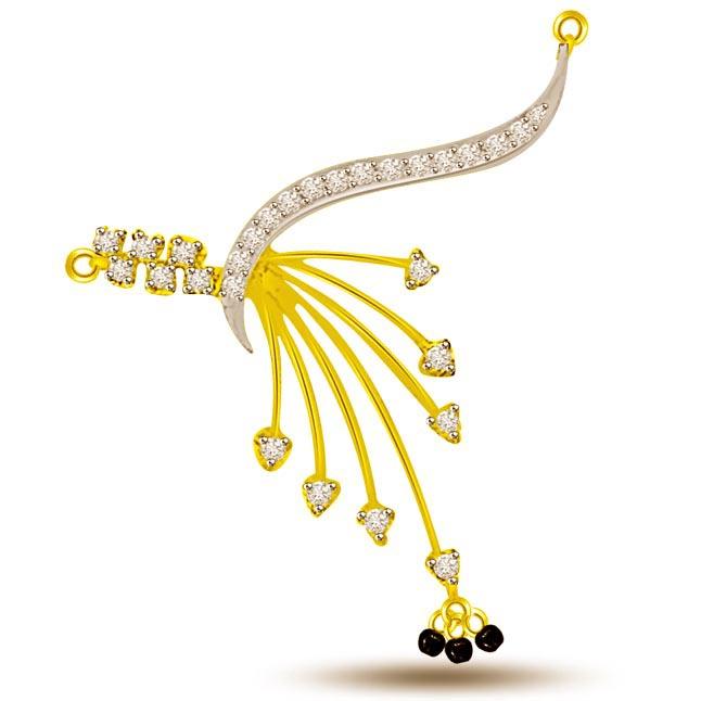 Holding My H 0.24ct Diamond Necklace Pendants