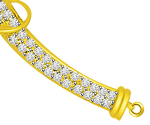 Love Petals 0.42ct Diamond Necklace Pendants Necklaces