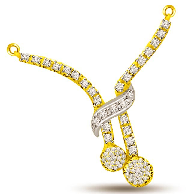 Bound In Love For Life 0.45ct Diamond Pendants